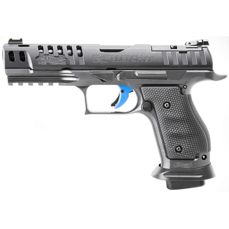 Pistola walther q5 match sf champion negra